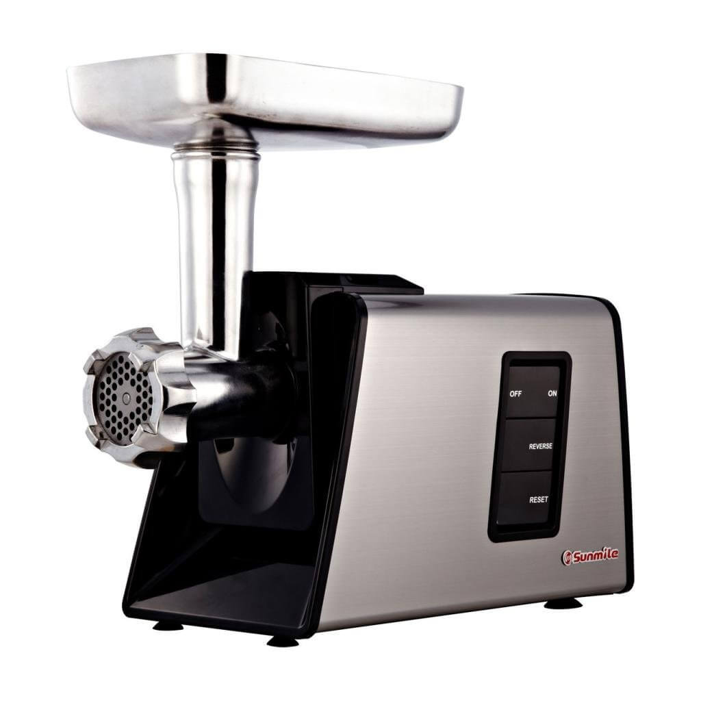 how to use the SUNMILE SM-G73 meat grinder